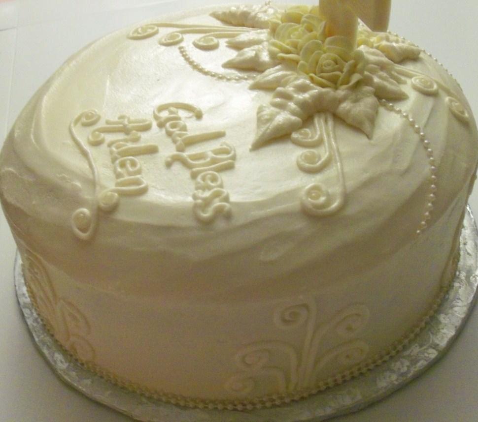 Baby Dedication Cake Images : Baby Dedication cake - Cake Bakery